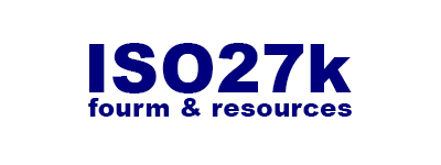 The ISO27k Forum